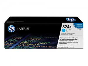 Genuine HP CB381A No.824A Cyan Toner Cartridge - 21,000 pages