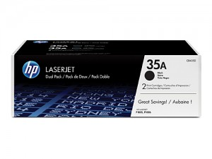 Genuine HP CB435AD No.35A Toner Cartridge Twin Pack - 2 x 1,500 pages