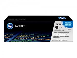 Genuine HP CB540A No.125A Black Toner Cartridge - 2,200 pages