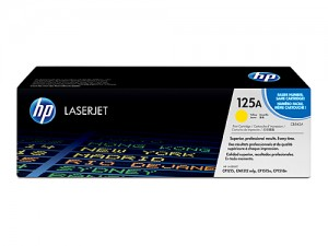 Genuine HP CB542A No.125A Yellow Toner Cartridge - 1,400 pages