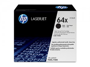 Genuine HP CC364X No.64X Toner Cartridge High Capacity - 24,000 pages