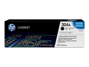 Genuine HP CC530A No.304A Black Toner Cartridge - 3,500 pages