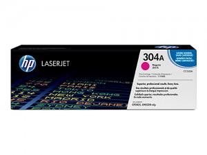 Genuine HP CC533A No.304A Magenta Toner Cartridge - 2,800 pages