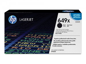 Genuine HP CE260X No.649X HY Black Toner Cartridge - 17,000 pages (works in the CP4525 only) *********