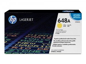 Genuine HP CE262A No.648A Yellow Toner Cartridge - 11,000 pages