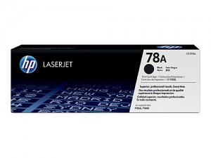 Genuine HP CE278A No.78A Black Toner - 2,100 pages