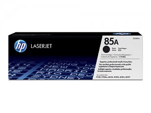 Genuine HP CE285A No.85A Black Toner - 1,600 pages