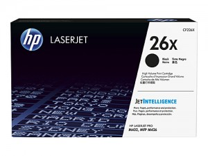 Genuine HP CF226X No.26X Toner Cartridge - 9,000 pages
