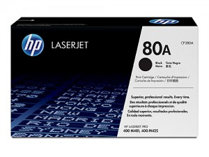 Genuine HP CF280A No.80A Black Toner - 2,700 pages