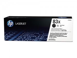Genuine HP CF283X No.83X Black Toner Cartridge - 2,200 pages