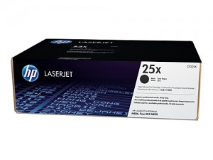 Genuine HP CF325X No.25X Black Toner Cartridge - 40,000 pages