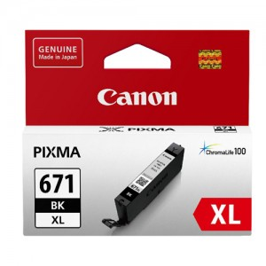 Genuine Canon CLI671XL Black Ink Value Pack -