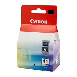 Genuine Canon CL-41 FINE Colour Ink Cartridge - 312 pages