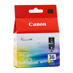 Genuine Canon CLI36C Four Colour Ink Tank - 109 pages