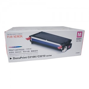 Genuine Xerox DocuPrint C2100 Magenta Toner Cartridge - 6,000 pages