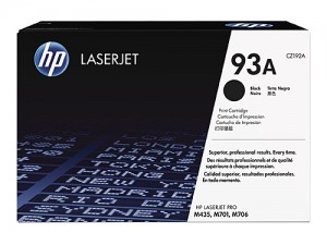 Genuine HP CZ192A No.93A Black Toner Cartridge - 12,000 pages