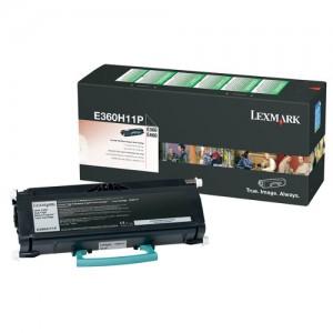 Genuine Lexmark E360 / 460 Prebate Toner Cartridge - 9,000 pages