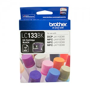 Genuine Brother LC-133 Black Ink Cartridge - up to 600 pages
