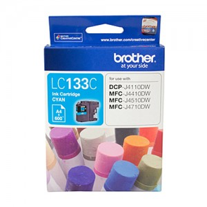 Genuine Brother LC-133 Cyan Ink Cartridge - up to 600 pages