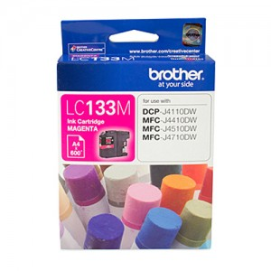 Genuine Brother LC-133 Magenta Ink Cartridge - up to 600 pages