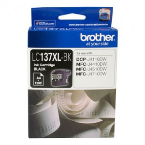 Genuine Brother LC-137XL Black Ink Cartridge - up to 1200 pages