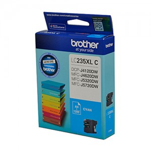 Genuine Brother LC-235XL Cyan Ink Cartridge - 1200 pages