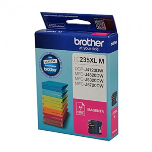 Genuine Brother LC-235XL Magenta Ink Cartridge - 1200 pages