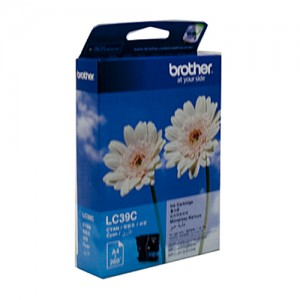 Genuine Brother LC-39C Cyan Ink Cartridge - 260 pages