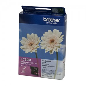 Genuine Brother LC-39M Magenta Ink Cartridge - 260 pages