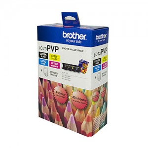 Genuine Brother LC-73 Photo Value Pack