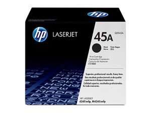 Genuine HP Q5945A No.45A Toner Cartridge - 18,000 pages