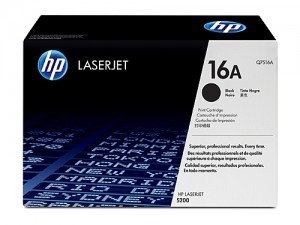 Genuine HP Q7516A No.16A Toner Cartridge - 12,000 pages
