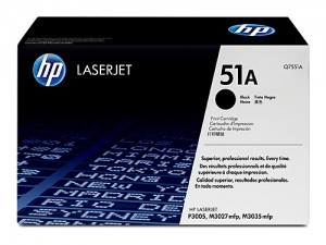 Genuine HP Q7551A No.51A Toner Cartridge - 6,500 pages