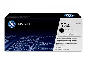 Genuine HP Q7553A No.53A Toner Cartridge - 3,000 pages