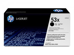 Genuine HP Q7553X No.53X Toner Cartridge High Capacity - 7,000 pages