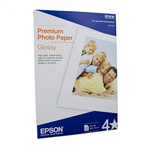 Genuine Epson S041289 Glossy Paper A3+ - 20 Sheets