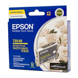Genuine Epson T0540 Gloss Optimiser Ink Cartridge - 440 pages