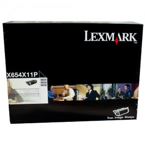 Genuine Lexmark T654 Prebate Toner Cartridge - 36,000 pages