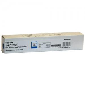 Genuine Toshiba E-Studio TFC26SC Cyan Toner - 5,000 pages