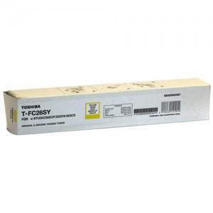 Genuine Toshiba E-Studio TFC26SY Yellow Toner - 5,000 pages