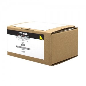 Genuine Toshiba TFC305PYR Yellow Toner Cartridge - 3,000 pages