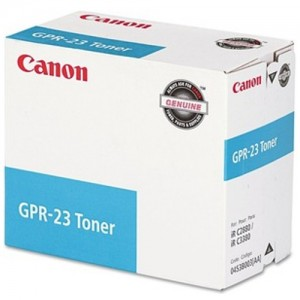 Genuine Canon (GPR-23) IRC-2880 / 3380 Cyan Copier Toner - 14,000 pages