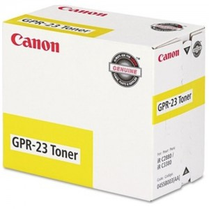 Genuine Canon (GPR-23) IRC-2880 / 3380 Yellow Copier Toner - 14,000 pages