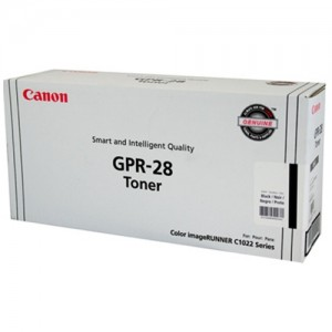 Genuine Canon (GPR-28) IRC-1021 Black Copier Toner - 6,000 pages