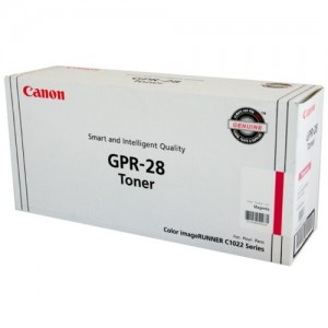 Genuine Canon (GPR-28) IRC-1021 Magenta Copier Toner - 6,000 pages
