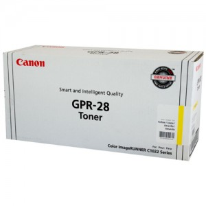 Genuine Canon (GPR-28) IRC-1021 Yellow Copier Toner - 6,000 pages