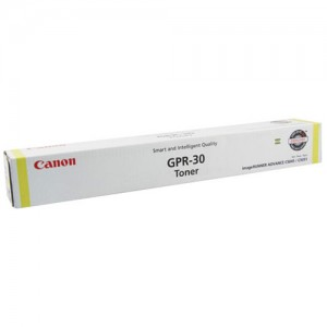 Genuine Canon (GPR-30) TG45 Yellow Copier Toner - 38,000 pages