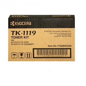 Genuine Kyocera TK1119 Toner Kit FS-1041 - 1,600 pages