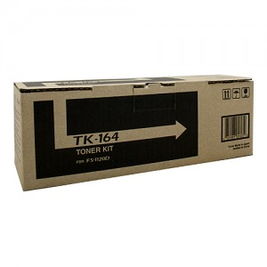 Genuine Kyocera TK-164 Black Toner Kit - 2,500 pages