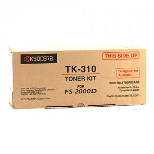 Genuine Kyocera FS-2000D / 3900DN / 4000DN Toner Cartridge - 12,000 pages @ 5%
